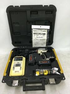 【中古品】TAJIMA タジマ 18V太軸インパクトドライバー PT-A200 充電器・バッテリー2個付 動作確認済 / ITTUMP9ODPJW