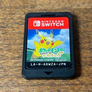 ポケットモンスター Let''s Go ピカチュウ Nintendo Switch