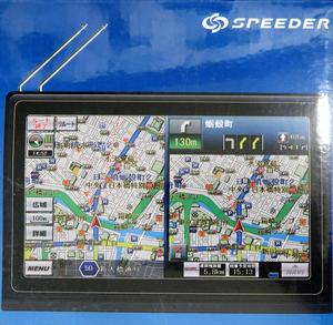 新品・未開封 フルセグTV内蔵 SPEEDER 7インチ カーナビ HD-066F 地図 GPS オービス Bluetooth タッチパネル るるぶ DATA 地デジ ワンセグ