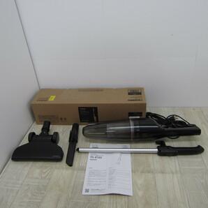 S10043【未使用】ツインバード サイクロンスティッククリーナー 2WAY 掃除機 ジェットブラック TC-E123JBK