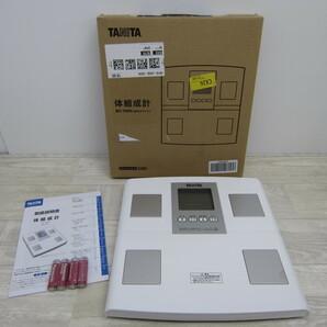 S10518【未使用】タニタ 体重 体組成計 日本製 BC-705N WH 自動認識機能付き/測定者をピタリと当てる