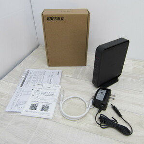S10525【未使用】BUFFALO WiFi 無線LAN ルーター WSR-1166DHPL2/N 11ac ac1200 866+300Mbps IPv6対応 デュアルバンド 3LDK 2階建向け