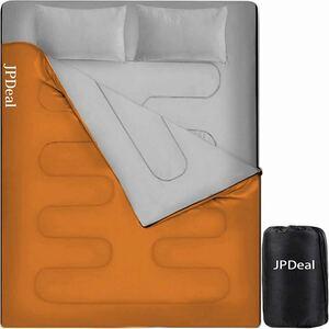 寝袋 シュラフ 封筒型 保温 210T 防水 2.4kg 連結可能 丸洗い可能