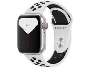 new goods unopened Apple Watch Nike Series 5 GPS+Cellular model 40mm MX3C2J/A [ pure platinum / black Nike sport band ]