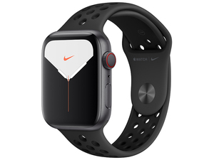 new goods unopened Apple Watch Nike Series 5 GPS+Cellular model 44mm MX3F2J/A [ anthracite / black Nike sport band ]