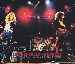 Led Zeppelin Express Live at Earls Court, London, England May 23th 1975