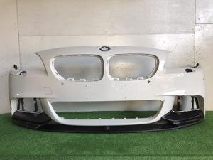 61028◇F10/F11 BMW 5シリーズ Mスポーツ 純正 フロントバンパー スポイラー付 51117905289◇H14