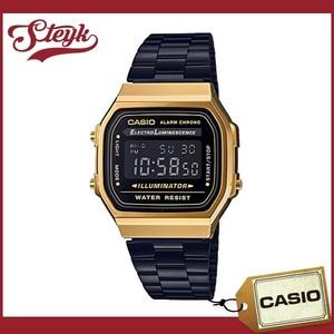 CASIO カシオ 腕時計 チープカシオ チプカシ カシオスタンダード デジタル A168WEGB-1B メンズ
