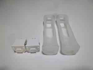 M036《送料無料 即日発送》Wii モーションプラス ジャケット 2個セット(分解洗浄 動作確認済)リモコンカバー