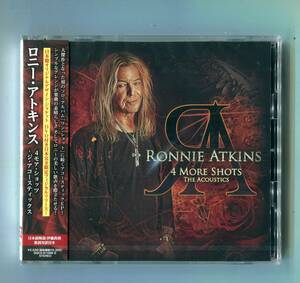 新発売 Ronnie Atkins ロニー・アトキンス - 4 More Shots 4モア・ショッツ 帯付 日本盤 定価2530円 北欧メロディアスハード Pretty Maids