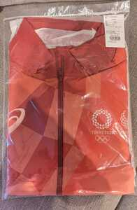 オリンピック 審判 ユニフォーム ジャケット L TOKYO2020 役員 パラリンピック 新品 非売品 ボランティア アシックス