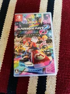 Nintendo Switch ニンテンドー スイッチ ソフト マリカー mario kart deluxe 8