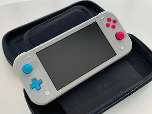 Nintendo switch light 本体 ニンテンドースイッチライト+ケース※ポケモン ザシアン・ザマゼンタ 任天堂
