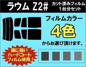 ラウム 20系 Z2 カット済みカーフィルム リアセット