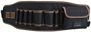 型A [えみり] ツールバッグ ウエストバッグ 腰袋 工具袋 工具収納 ベルト付き 調節可能 多ポケット 大容量 多機能 撥水