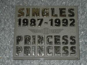 初回盤ベストアルバムCD★プリプリ PRINCESS PRINCESS / SINGLES 1987-1992★GET CRAZY!世界でいちばん熱い夏19 GROWING UP