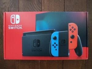 【メーカー保証あり】Nintendo Switch ニンテンドースイッチ 本体 ネオンブルー ネオンレッド 任天堂