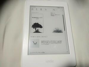 4GB ホワイト Kindle Paperwhite Wi-Fi 電子書籍リーダー