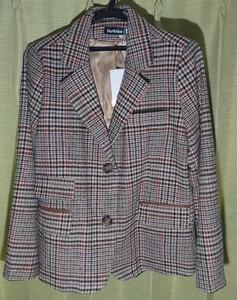 スーツジャケット レディース テーラードジャケット 着痩せ 40代 チェック柄スーツ 通勤 長袖ブレザー カジュアル ショット丈