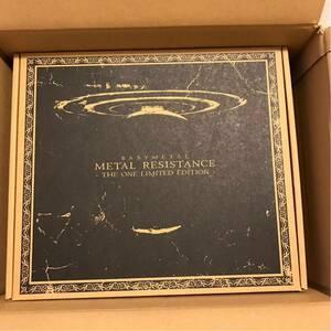 新品 未開封 BABYMETAL 「METAL RESISTANCE THE ONE LIMITED EDITION」 CD + Blu-ray 限定盤 ベビーメタル 完売 メタルレジスタンス