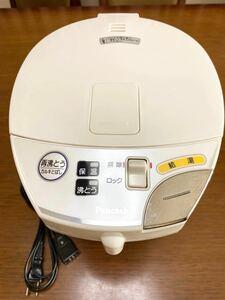 電気ポット ピーコック 大きなボタンの電動給湯エレクトリックポット 美品