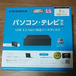 I/O DATA HDCX-UTL6K 3.5インチHDD 6TB ①