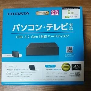 I/O DATA HDCX-UTL6K 3.5インチHDD 6TB ④