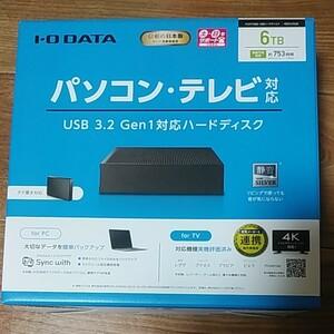I/O DATA HDCX-UTL6K 3.5インチHDD 6TB ⑥