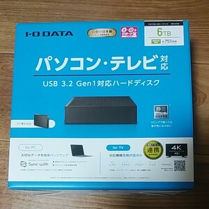 I/O DATA HDCX-UTL6K 3.5インチHDD 6TB ⑦