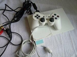 薄型PS2 プレステ2 SCPH-90000 ホワイト■すぐに遊べるセット