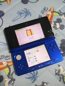 送料込み 任天堂3DS  ブルー