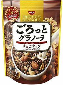 新品400g×6袋 日清シスコ ごろっとグラノーラ チョコナッツ 400g×6袋Y9MM