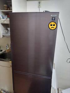 SHARP 冷蔵庫 SJ-PD28E-T 2019年製 6か月使用 中古 目立った傷・汚れなし