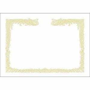 白色 A4 タカ印 賞状用紙 10-1460 OA賞状用紙 A4 縦書き 雲なし 100枚 白