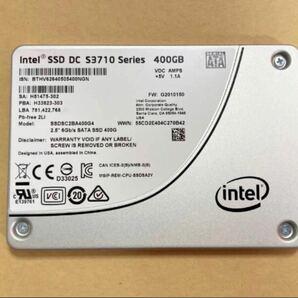 Intel SSD DC S3710 400GB HET-MLCチップ SATA 2.5 データセンター 専用コンデンサ搭載
