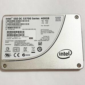送料込 Intel SSD DC S3700 400GB HET-MLCチップ SATA 2.5inch データセンター 高耐久