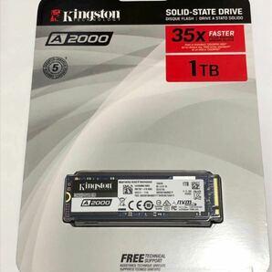 新品 キングストン A2000 SSD SA2000M8/1000G 1TB M.2 2280 NVMe SSD 3D TLC