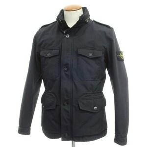 ストーンアイランド STONE ISLAND ポリエステルナイロン M-65型 中綿入りフィールドジャケット M ネイビー