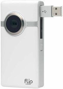 Cisco Flip Video Ultra HD 3 Model U32120 White 8 GB Camera Camcorder 【HDビデオレコーダー 8GB 録画時間2時間】送料無料