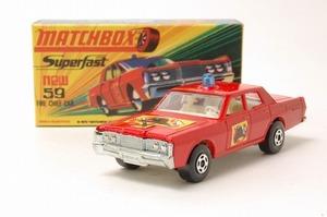 MATCHBOX(マッチボックス)マーキュリー ファイヤー チーフ