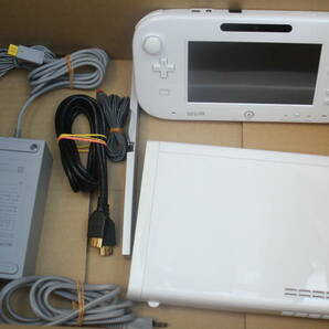 WiiU本体セット 32GB WUP-101(01) 電源コード/ゲームパッド/センサーバー/HDMIケーブル付属 A