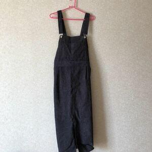 大きいサイズ 3L コーデュロイ ジャンパースカート