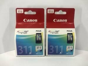 【期限2020年8月】 Canon 純正 インク カラー 311 送料無料 BC-311