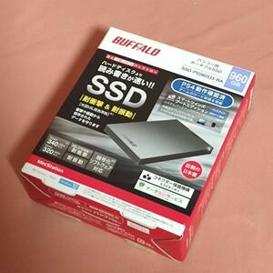 新品未開封品 BUFFALO ポータブルSSD 960GB SSD-PG960U3-BA