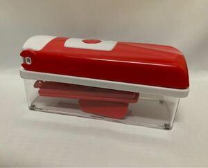 食材ボックス  ショップジャパン SHOPJAPAN スライサー 下ごしらえ 器  ナイサーダイサースマート 未使用 新品 万能
