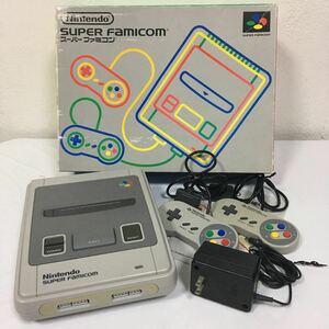 Nintendo スーパーファミコン 本体