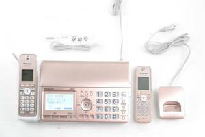 A682★通電のみ★ パナソニック KX-PZ510DL-N デジタルコードレス普通紙ファクス 子機1台付き ピンクゴールド おたっくす Panasonic