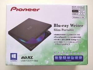 Pioneer BDR-XD05J2 ポータブルBlu-rayドライブ