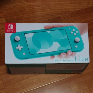 32GB付き Nintendo Switch ニンテンドースイッチライト本体 ターコイズ