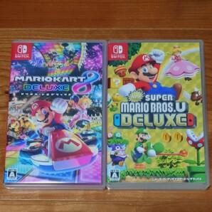 Nintendo Switch マリオカート8デラックス NewスーパーマリオブラザーズU セット